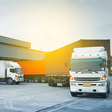 In-transit visibility in supply chains
