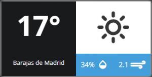 Weather widget 1