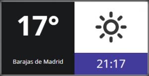 Weather widget 2