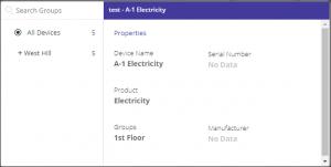 Properties and Settings widget