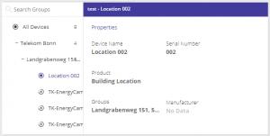 Properties and Settings widget 2