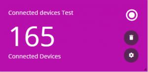 Devices widget