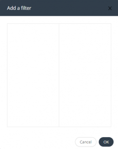 Add filter window