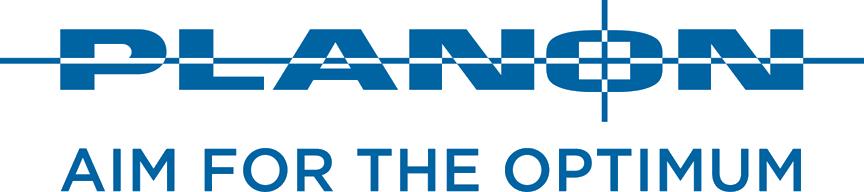 Logo Planon Aim for the optimum_Blue